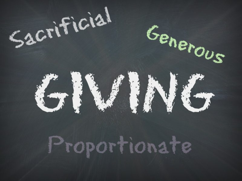 Giving – How Much – 2